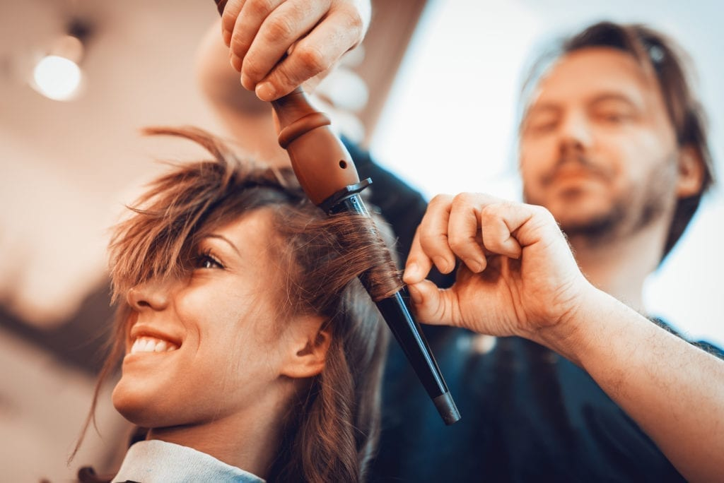 Learn hairdressing level 3 with athena beauty academy