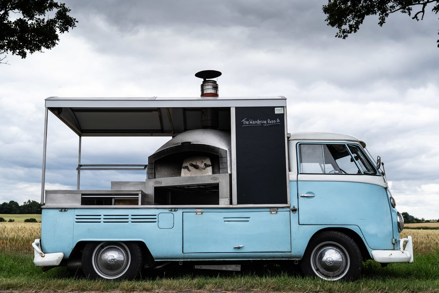 VW Pizza Van